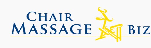 Chair massage business home page