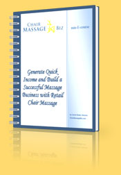 Market your massage business with retail sales